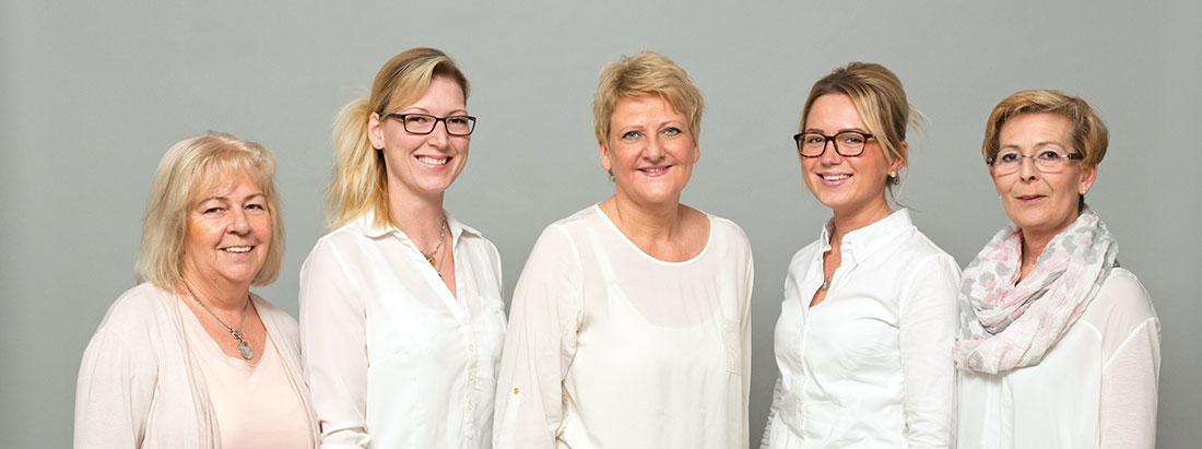 Das Führungsteam vom Pflegenetz Martina Rosenberger