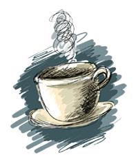 Das Logo von ''Cafe Pause''